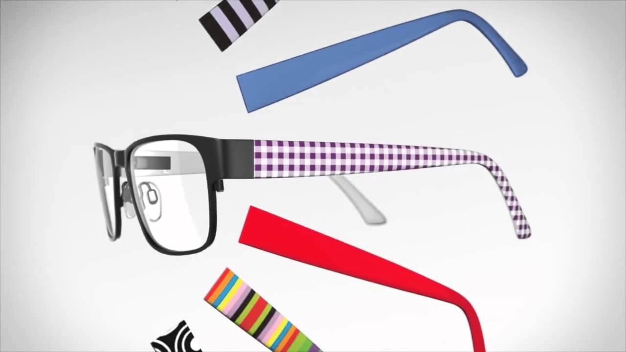 Farben und auffällig sehr bequem Treffen Wechsel-Bügel-Brillen
