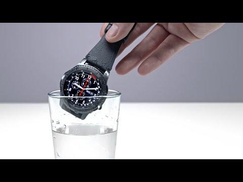 Samsung Gear S3 Hands On + Liquid Test