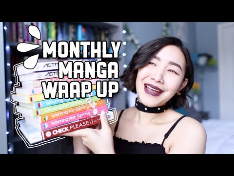 A NEW FAVORITE SERIES?? | Monthly Manga Wrap Up 🌸