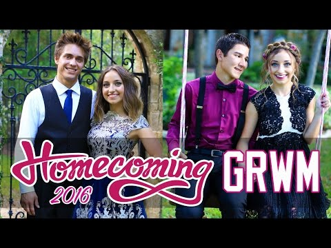 'Get Ready With Me' HOMECOMING 2016 | Brooklyn and Bailey GRWM