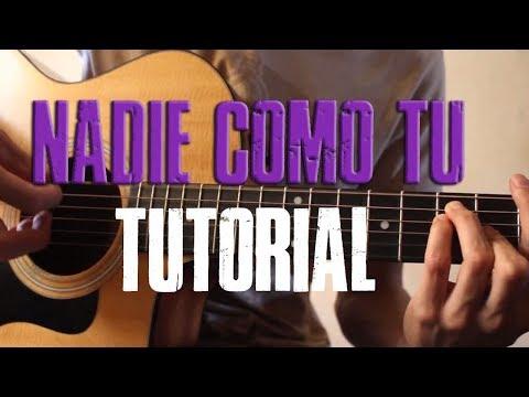 Como tocar ¨Nadie Como Tu¨ VIRLAN GARCIA (TUTORIAL DE GUITARRA) @AldoGarcia