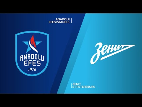 Anadolu Efes Istanbul - Zenit St Petersburg Highlights | Turkish Airlines EuroLeague, RS Round 1