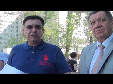 Правозащитник Эдуард Багиров показал журналистам секретный