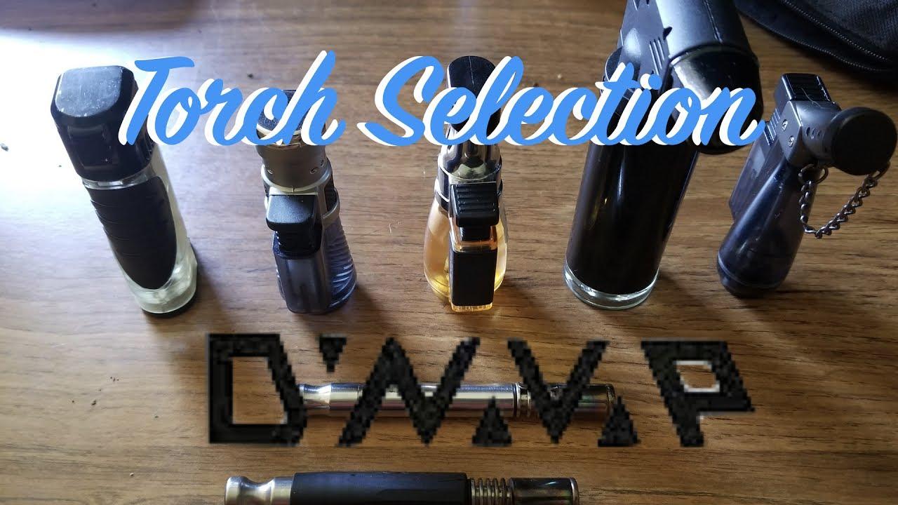 DynaVap: VapCap  (Torch) Lighter Selection 🤔