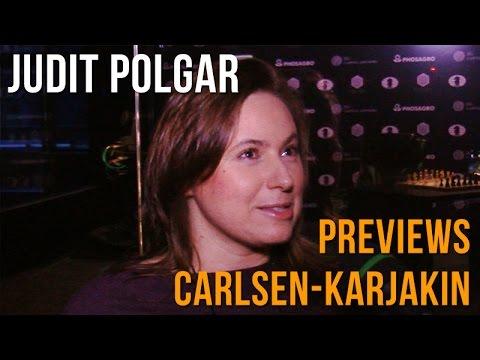 Carlsen-Karjakin World Championship: Judit Polgar