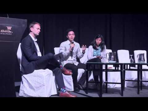 Kevin dan Nesha ke Responsible Business Forum, Singapura