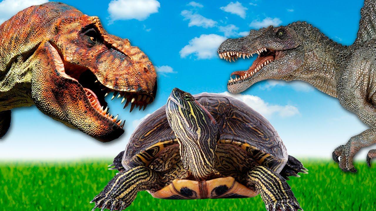 Dinosaurs - Dinosaurs - Tyrannosaurus Tirex in the limbo