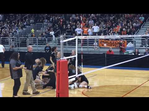 Lake Orion's championship-winning point vs. Rockford in the MHSAA Division 1 state finals