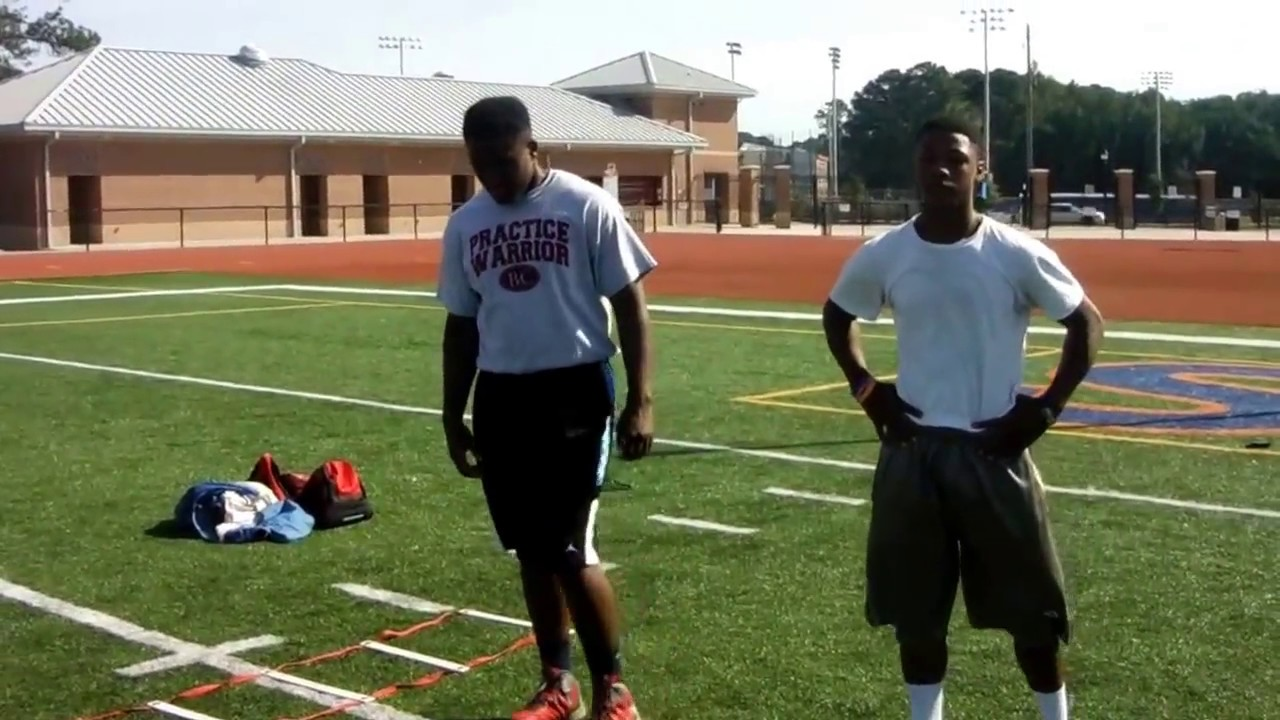 Coach Johnson New Millinneum Train Chris Harris And Wesley Kennedy