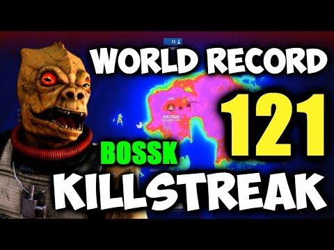Dutch's WORLD RECORD BOSSK KILLSTREAK (121 Kills, 166 Eliminations) - Star Wars Battlefront 2 thumbnail