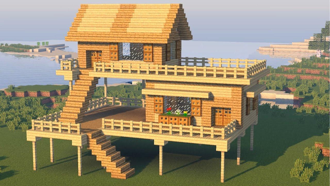 Майнкрафт схемы красивых домов