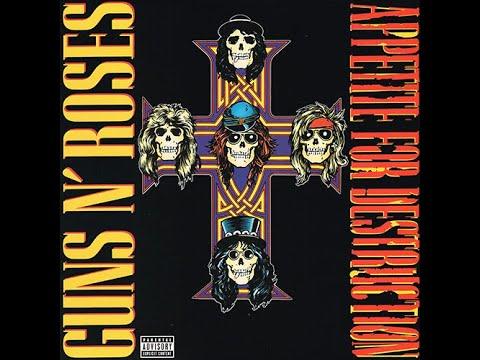 Welcome To The Jungle | Guns N' Roses 1987 Appetite For Destruction | 2015 Uzi Suicide Records LP