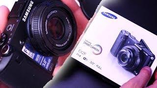 samsung EX2F Smart Camera: Unboxing