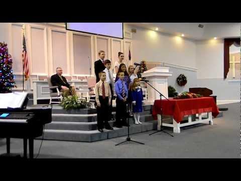 Berean Baptist Youth Choir Christmas 2012 (1)