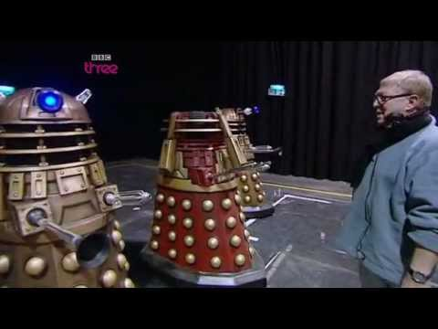 The Life Of A Dalek Operator - Doctor Who Confidential