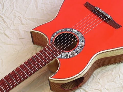 Andalusian Barbero 1945 Double Cut Away Cocuswood & Wittner Pegs / New Flamenco Guitars / Spain