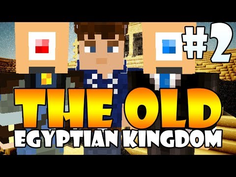 Minecraft: The Old Egyptian Kingdom ft. Ronald, Timo & Vincent (Part 2)