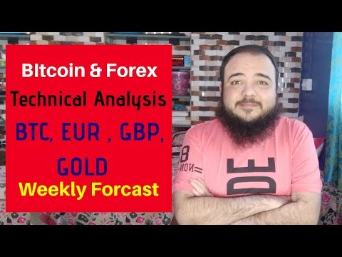 BItcoin & Forex Technical Analysis , BTC, EUR , GBP, GOLD  Weekly Forcast