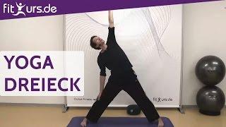 Yoga Dreieck (Trikonasana) -