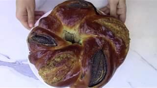 Маковый рулет с Орехами. Красивый пирог с огромным количеством начинки. Выпечка.
