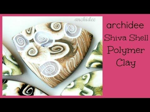 Polymer Clay Tutorial | Murrina Conchiglia Occhio Di Venere | Shiva Shell Cane | SUBTITLES NOW !!