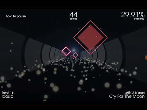 MoonlightButterfly Miku Plays: Polytone (First Person Android Rhythm Game)