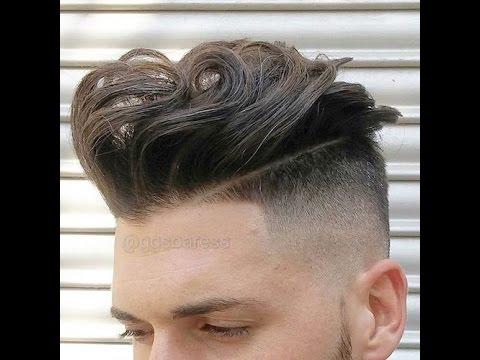 gaya rambut pria sesuai bentuk wajah lonjong || gaya ...