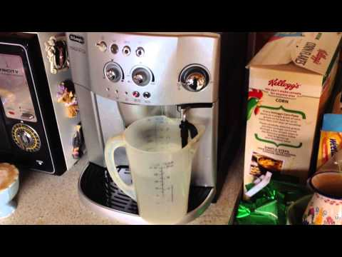 Delonghi coffee machine cleaning