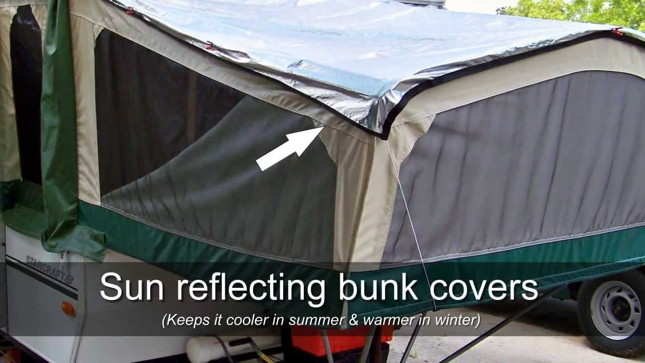 & Inexpensive Pop Up Camper Modifications You Can Make - YouTube