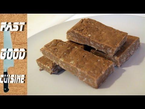 Assez Recette facile : Barres protéinées maison | FastGoodCuisine - YouTube FC94