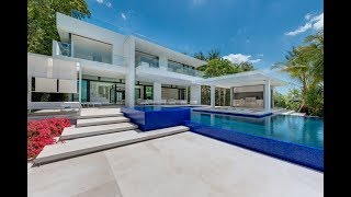 Resort Style Waterfront Estate - 5004 N Bay Road, Miami Luxury Home