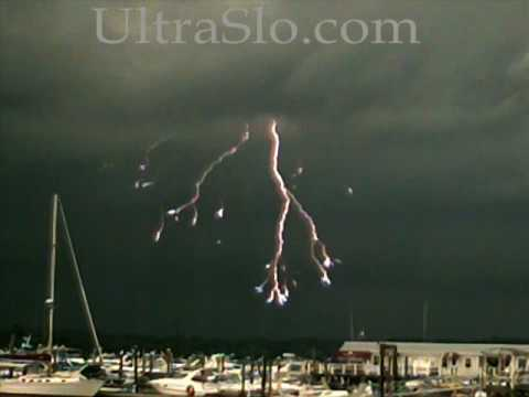 Download Youtube: 2000 FPS Lightning & Rain in UltraSlo motion