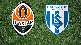 Shakhtar 4-1 Lausanne. Full game / Шахтер 4-1 Лозанна. Полный матч(Friendly game. Shakhtar - Lausanne. http://video.shakhtar.com/en/live/ Товарищеский матч. Шахтер - Лозанна. http://video.shakhtar.com/ru/live/ Jogo amistoso ..., 2014-07-05T16:51:54.000Z)