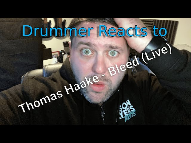 Drummer Reacts to Meshuggah - Bleed - Tomas Haake - Bleed (Live) and is left speechless!
