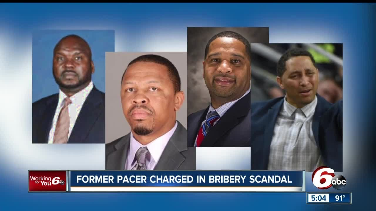 Former Pacer Chuck Person one of 4 NCAA coaches charged with fraud