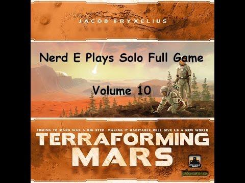 Terraforming Mars Solo Play Volume 10