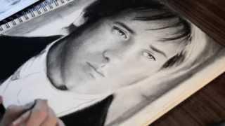 Drawing Matthew Macfadyen (Mr Darcy)
