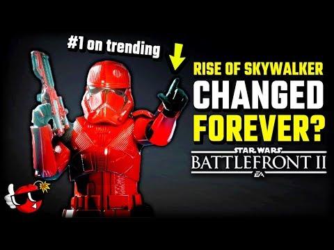 The Rise Of Skywalker Will CHANGE Battlefront 2 FOREVER - Star Wars Battlefront 2 New Map, Update