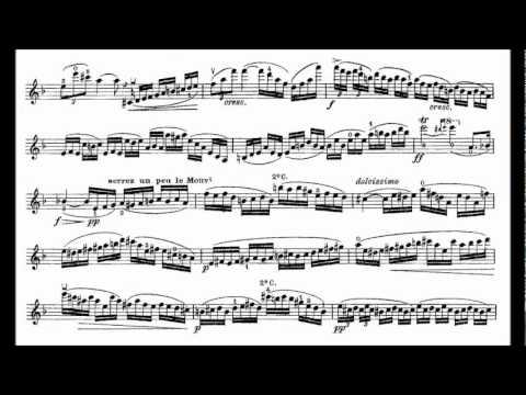 Lalo, Edouard violin concerto op. 20 mvt1