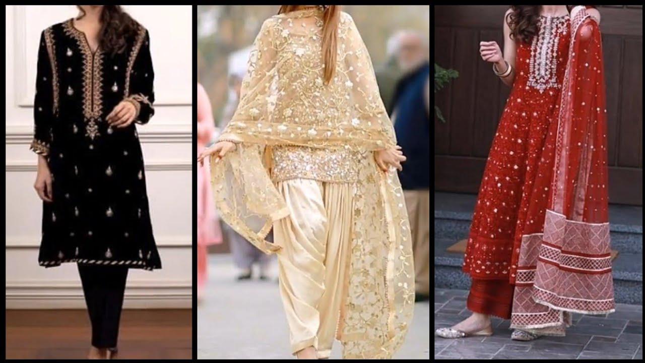 Pakistani Eid Dresses 2020 New Eid Dress Design 2020 Eid Collection 2020 Eid Dresses For Girl 2020 Youtube