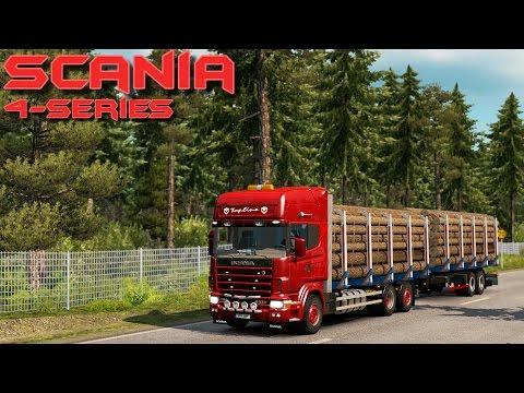Euro Truck Simulator 2 - Scania 4 Series Tandem - Test Drive Thursday #67