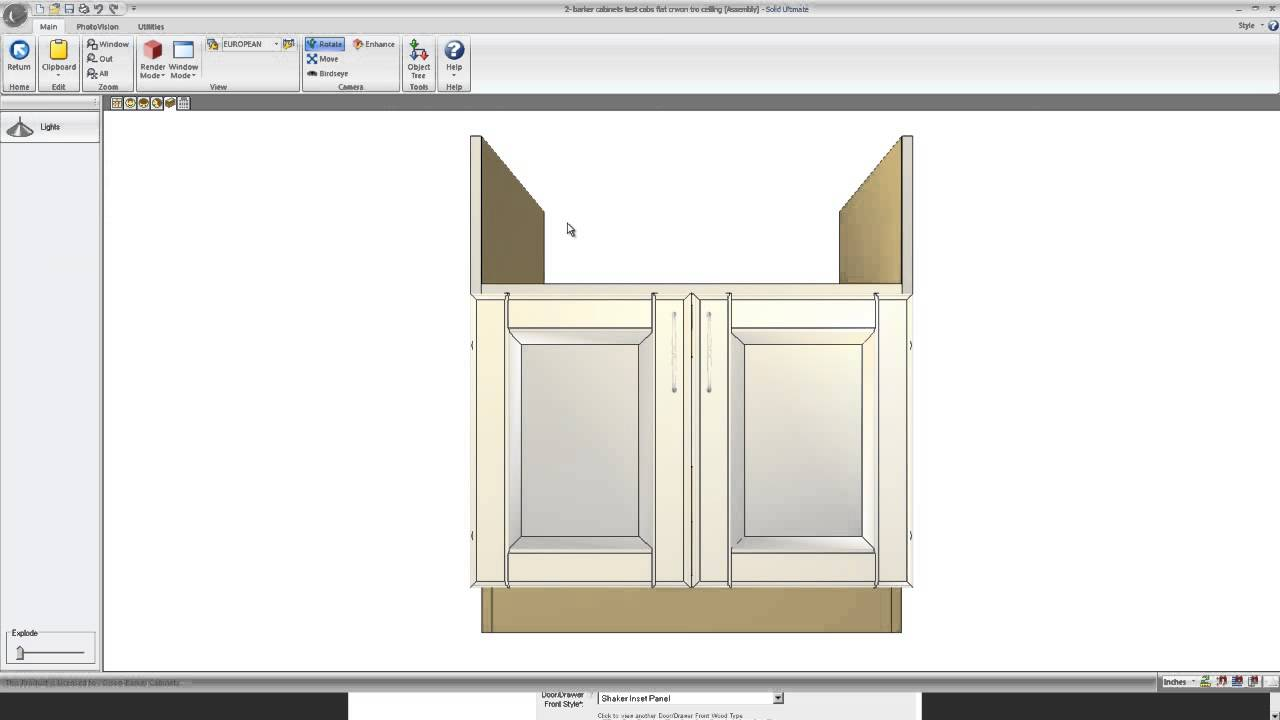 Farmhouse Sink Cabinet How To Order A Sink Cabinet For A Kohler Apron Front Sink Youtube