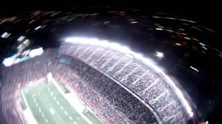 Repeat youtube video Broncos Thunderstorm Skydivers vs KC 11/17/13 Night Game with Pyro (David's view)