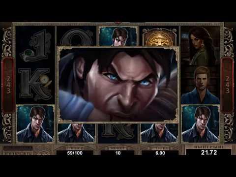 Игровой автомат Immortal Romance (Microgaming) - бонусная игра, демо-режим ⭐⭐⭐
