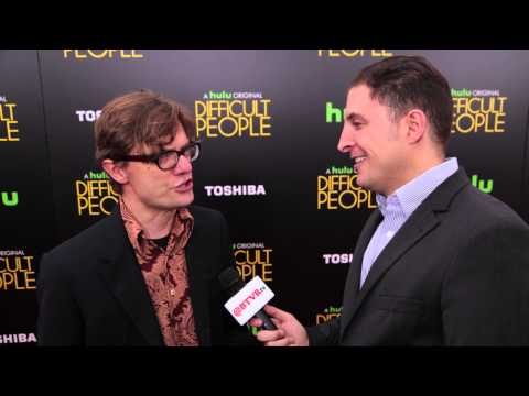 James Urbaniak at the