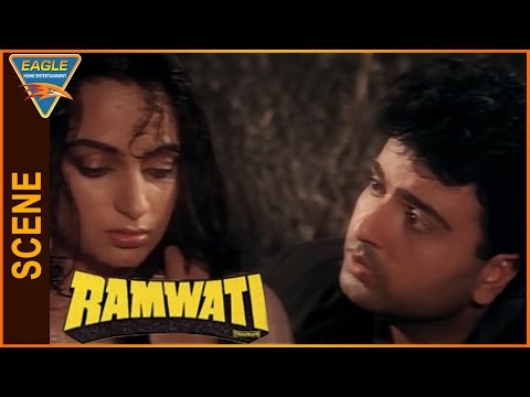 Ramwati Hindi Movie || Sunil Puri And Upasana Singh Best Love Scene || Eagle Hindi Movies thumbnail