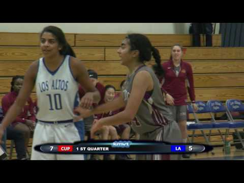 Cupertino Pioneers vs Los Altos Eagles - Girls Basketball January 13, 2017