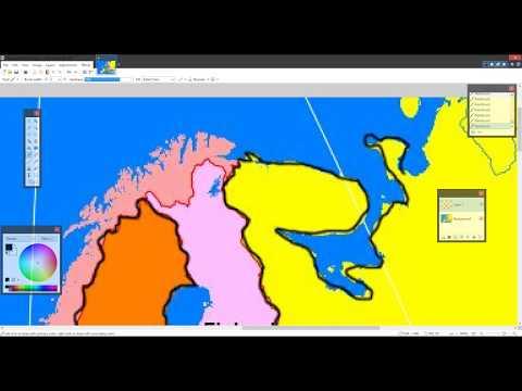 European Political Map - Part 1