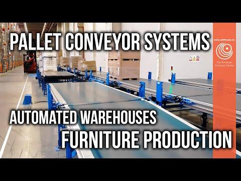 Self Trust Romania | Pallet Conveyor Systems | Furniture