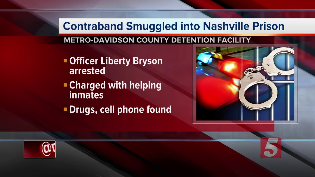 Correctional Officer Accused Of Smuggling Contraband Into Jail